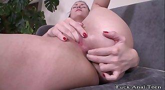 Fuck Anal Teen - My Shy Sister Masturbation for Me