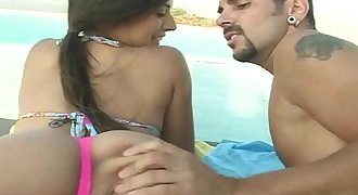 Anal licking teen bikini porn